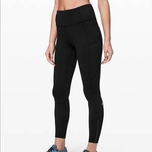 Lululemon Fast and Free 7/8 Leggings